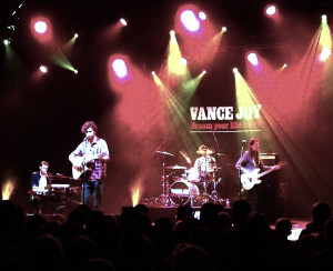 Vance Joy with band play to a full house in Ottawa, Nov. 2014.